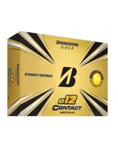 Bridgestone 2021 E12 Contact Golf Balls - Yellow