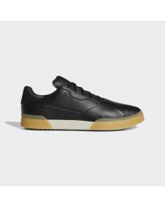 Adidas Adicross Retro Golf Shoe - Black/Gold