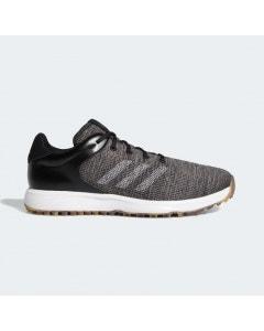 *Adidas S2G Spikeless Golf Shoe - Black/Grey