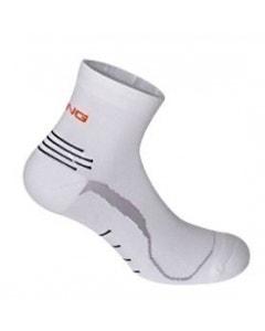 Spring Unisex Extra Light Socks - White/Grey