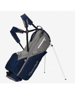 TaylorMade 2021 FlexTech Stand Bag - Slate/Navy/Flag