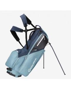 TaylorMade 2021 FlexTech Stand Bag - Titanium/Blue Steel