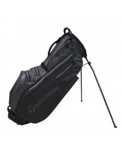 TaylorMade Flextech Waterproof Stand Bag - Black/Charcoal