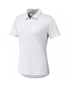 Adidas Womens Performance Primegreen Polo - White
