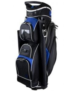 Fortress Windsor Cart Bag - Black/Dark Blue/White