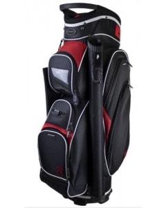 Fortress Windsor Cart Bag - Black/Red/White