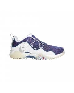 Adidas CODECHAOS 21 BOA SE Golf Shoes - White/Legend Marine/Scarlet