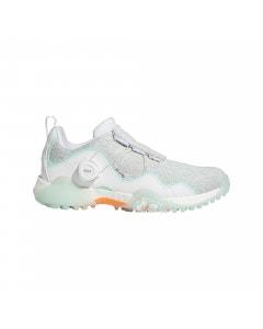 Adidas CODECHAOS 21 BOA Women's Golf Shoes - White/Screaming Orange/Clear Mint