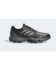 Adidas Junior ZG 21 Golf Shoes - Black/Silver