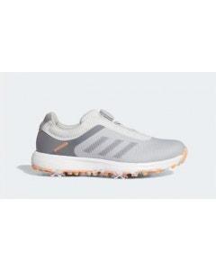 Adidas Womens S2G BOA Golf Shoes - Grey/Orange