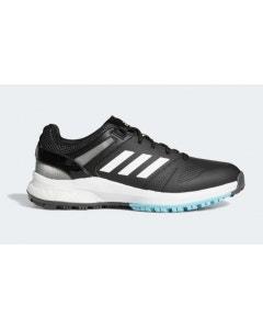 Adidas Womens EQT Spikeless Golf Shoes - Black/White/Blue