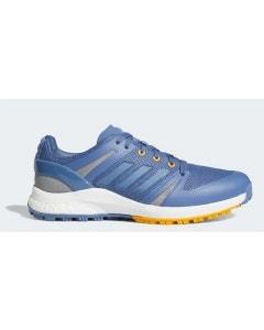Adidas EQT Spikeless Golf Shoes - Blue/Yellow