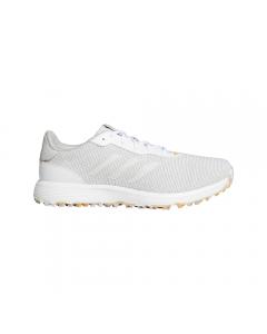 *Adidas S2G Spikeless Golf Shoe - Grey/White/Hazy Orange