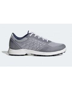 Adidas Womens Alphaflex Sport Spikeless Golf Shoes - White/Indigo