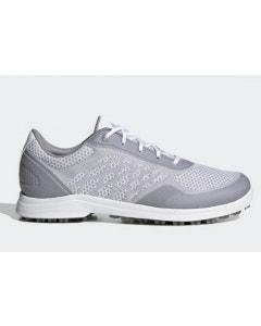 Adidas Womens Alphaflex Sport Spikeless Golf Shoes - White/Grey