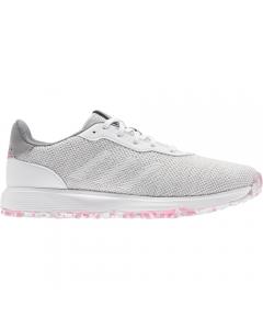 Adidas Women's S2G Spikeless Golf Shoe - Grey/White/Pink