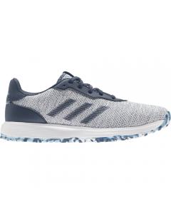 Adidas Women's S2G Spikeless Golf Shoe - Navy/White/Hazy Sky