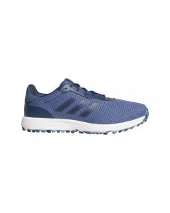 Adidas S2G Spikeless Golf Shoe - Blue/Navy/Yellow