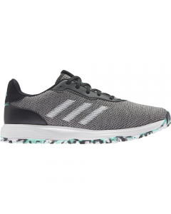 Adidas Women's S2G Spikeless Golf Shoe - Black/White/Acid Mint