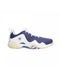 Adidas CODECHAOS 21 SE Golf Shoes - White/Legend Marine/Scarlet