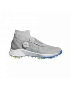 Adidas Women's ZG21 Motion BOA Golf Shoes - Grey/Pulse Yellow/Focus Blue