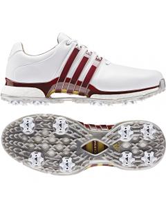 *Adidas Tour 360 XT Golf Shoe - White/Burgundy