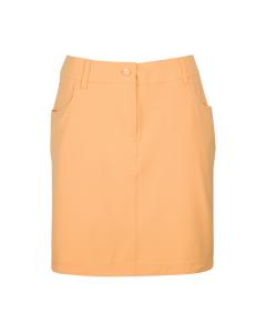 Greg Norman Womens Trimmed Woven Skort - Orange