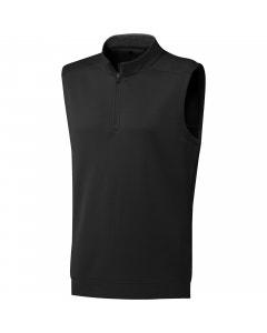 Adidas Club 1/4 Zip Vest - Black