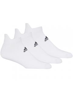 Adidas Men's Ankle Sock 3pk - White