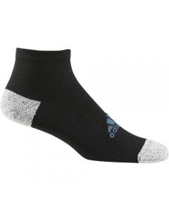 Adidas Men's Tour Ankle Sock - Black/Hazy Blue