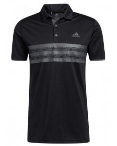 Adidas Mens Core Polo - Black/Grey