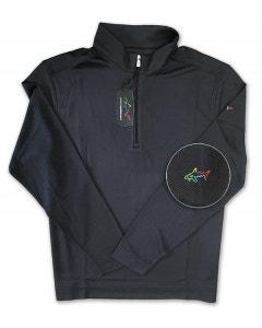 Greg Norman Long Sleeve 1/4 Zip - Black