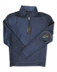 Greg Norman Long Sleeve 1/4 Zip - Navy