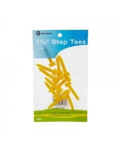 "Golf Craft 1 3/8"" Plastic Step Tees - 12 pack"