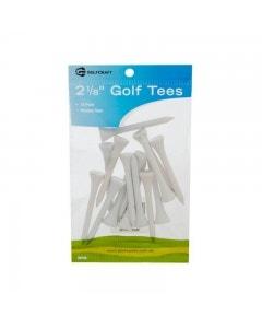"""Golf Craft 2 1/8"""" Wooden Golf Tees -15 pack"""