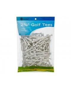 """Golf Craft 2 3/4"""" Wooden Golf Tees - 250 pack"""