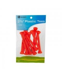 Golf Craft Plastic Tees - 12 pack