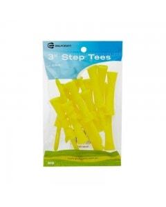 "Golf Craft 3"" Plastic Step Tees - 12 pack"