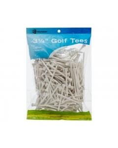 """Golf Craft 3 1/4"""" Wooden Golf Tees - 250 pack"""