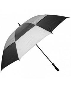 """Golf Craft 68"""" Windbuster Umbrella - Black/Charcoal"""
