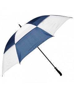 "Golf Craft 68"" Windbuster Umbrella - White/Navy"