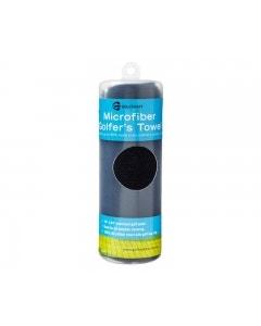 Golf Craft Microfibre Towel - Black