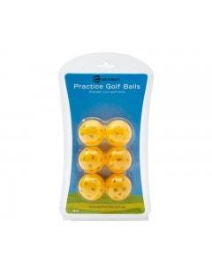 Golf Craft Practice Golf Balls 6pk - Orange