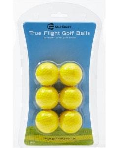 Golf Craft True Flight Practice Golf Balls