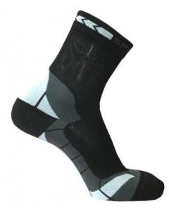 Spring Unisex Prevention Plus Socks - Black/Grey