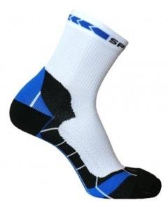 Spring Unisex Prevention Plus Socks - White/Blue/Black