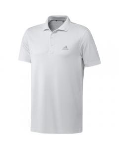 Adidas Mens Performance Primegreen Polo - White