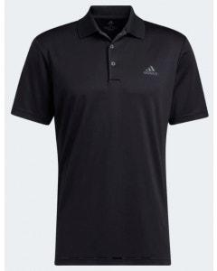 Adidas Mens Performance Primegreen Polo - Black