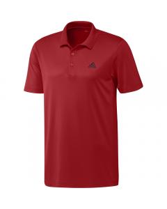 Adidas Mens Performance Primegreen Polo - Red