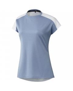 Adidas Women's Primeblue Heat.RDY Polo - Ambient Sky